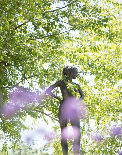 SENSE-sational Blooms, which focuses on the five senses, was the Monticello Sculpture Gardens' 7th annual curated garden show at Lewis and Clark Community College.